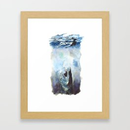 Don't Stop, Even For A Minute Framed Art Print