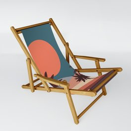 Abstract Landscape 13 Portrait Sling Chair