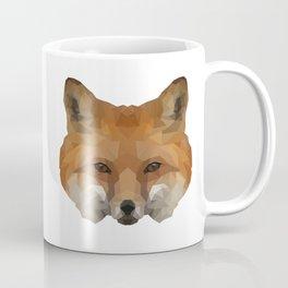 Geometrical Red Fox Coffee Mug