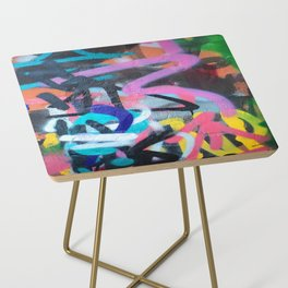 Street Art Graffiti Photography by Dominic Joyce Side Table