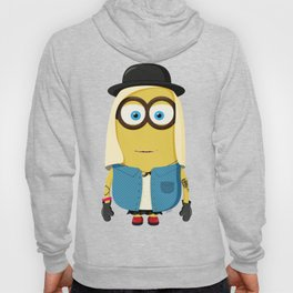 Hipster Girl Minion Hoody