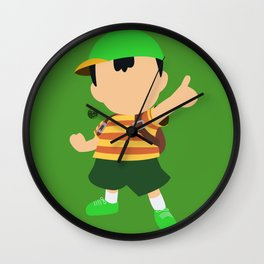 Ness(Smash)Green Wall Clock