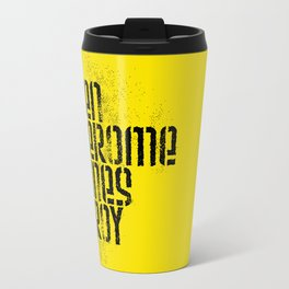 Ben Jerome Hines Troy / Gold Travel Mug