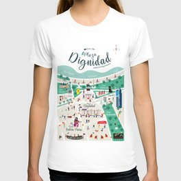 Plaza Dignidad Chile T-shirt
