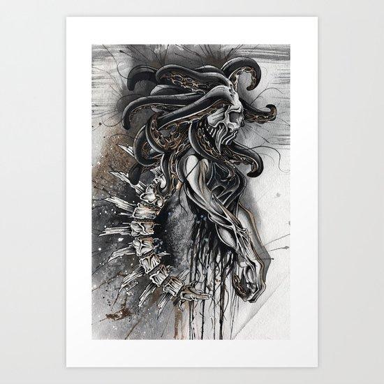 DISMANTLED Art Print