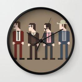 Anchorman 8-Bit Wall Clock