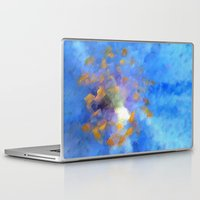 magic the gathering Laptop & iPad Skins featuring Gathering by Paul Kimble