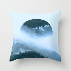 It's Raining Zen Throw Pillow