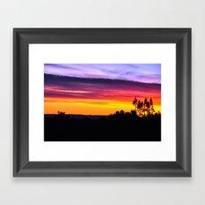 Painted Arizona Sky Framed Art Print