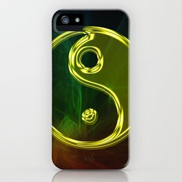 Smoking out the Yin and the Yang iPhone Case