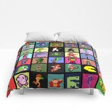 Pixel Heroes Comforters