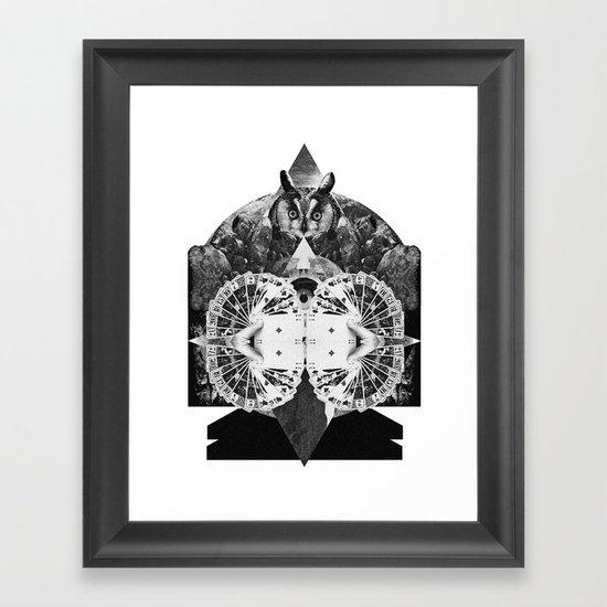 LIVE IN DREAMS Framed Art Print