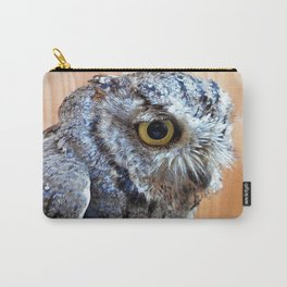 Western Screech Owl profile Carry-All Pouch