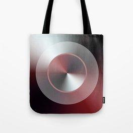 Serene Simple Hub Cap in Red Tote Bag