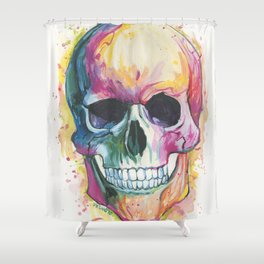 In Living Color Shower Curtain