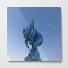 Sacred Blue Metal Print