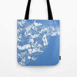 Thief of the waves Tote Bag