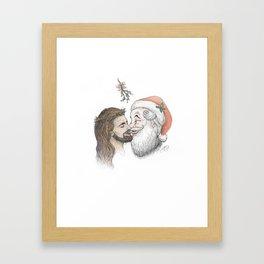Pash-On Of The Christ Framed Art Print