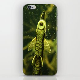 Cleaner Fish iPhone Skin