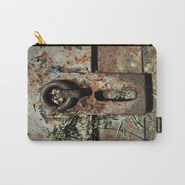 Old Unlocked Lock Carry-All Pouch
