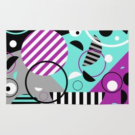Bits And Bobs - Abstract, geometric design Rug