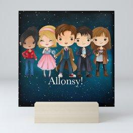 Allonsy Mini Art Print