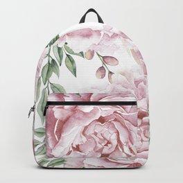 Beautiful Pink Roses Garden Backpack