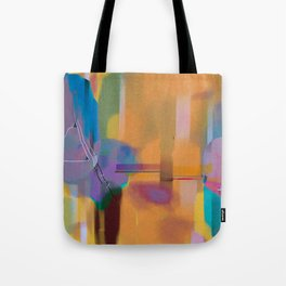 Conflict in the Void Tote Bag