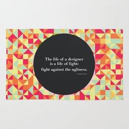 The life of a designer Rug