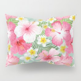 Tropical Hibiscus Pillow Sham