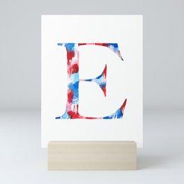 Letterforms : E Ella Mini Art Print