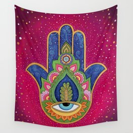 Fatima's hand / Hamsa Wall Tapestry