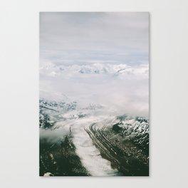 Trimble Glacier Canvas Print