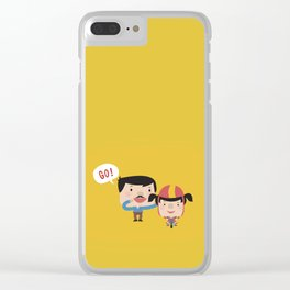 Let's Go! (Yellow Tales Series) Clear iPhone Case