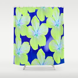 Retro Flowers II #decor #society6 Shower Curtain