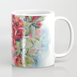 Watercolor Apple quince bloom Coffee Mug