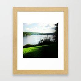 Glass Valley Framed Art Print
