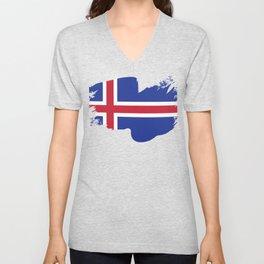 Iceland Reykjavík Icelandic Island Icelandic Unisex V-Neck