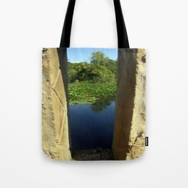 Framing a Pond Tote Bag