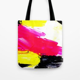 Funky colors abstract Tote Bag