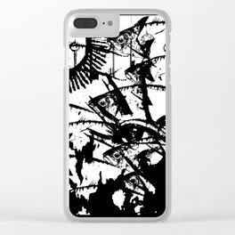 Hand of Mysteries Clear iPhone Case
