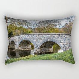 Lower Bridge Burnside's Bridge Antietam National Battlefield Civil War Maryland Rectangular Pillow