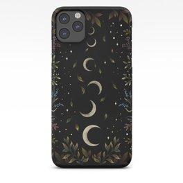 Crescent Moon Garden iPhone Case