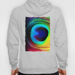 Colorfull Feather Peacock Hoody