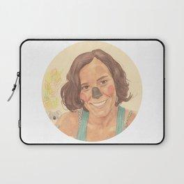 The koala girl Laptop Sleeve