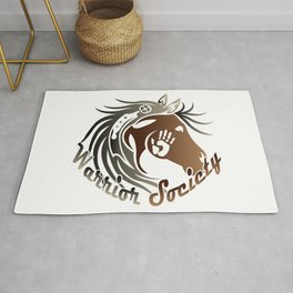 Warrior Society (Horse) Rug