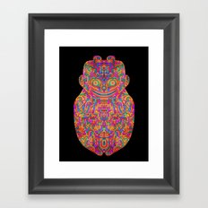 Self Transforming Spirit Guide Framed Art Print