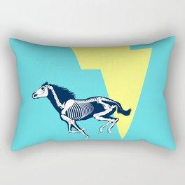 Electro Horse Rectangular Pillow