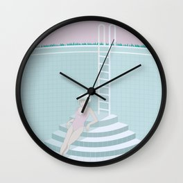 Emptied, Drained  Wall Clock