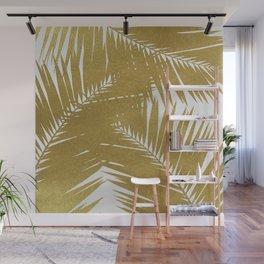 Palm Leaf Gold III Wall Mural